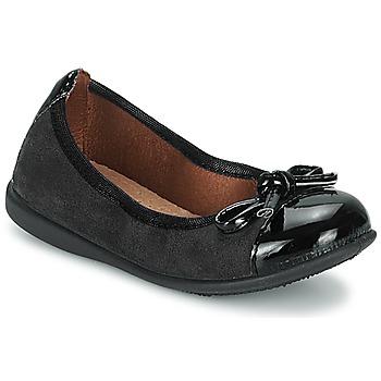 鞋子 女孩 平底鞋 Citrouille et Compagnie ROCIA 黑色