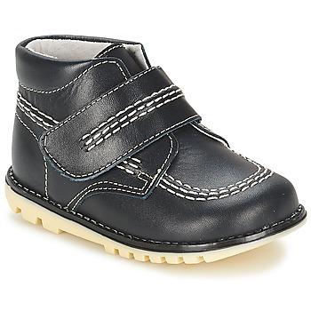 鞋子 男孩 短筒靴 Citrouille et Compagnie MELIN 海蓝色