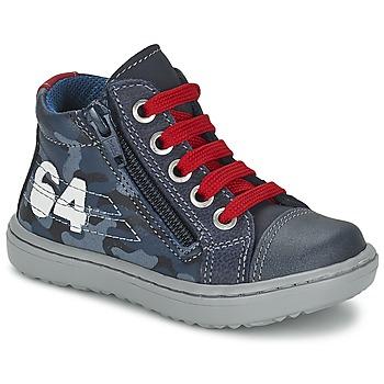 鞋子 男孩 高帮鞋 Citrouille et Compagnie MINAI 蓝色