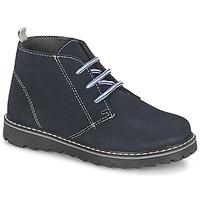 鞋子 男孩 短筒靴 Citrouille et Compagnie LEQUIN 蓝色