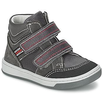 鞋子 男孩 高帮鞋 Citrouille et Compagnie MONI 灰色