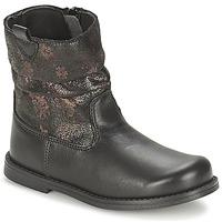 鞋子 女孩 都市靴 Citrouille et Compagnie JOUGRI 黑色
