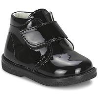鞋子 女孩 短筒靴 Citrouille et Compagnie MERLE 黑色