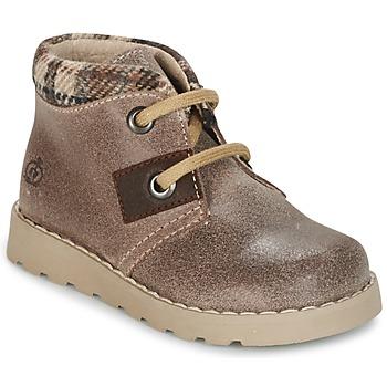 鞋子 男孩 短筒靴 Citrouille et Compagnie ZANZIB 灰褐色