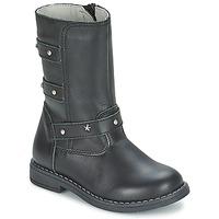 鞋子 女孩 都市靴 Citrouille et Compagnie ELZA 黑色