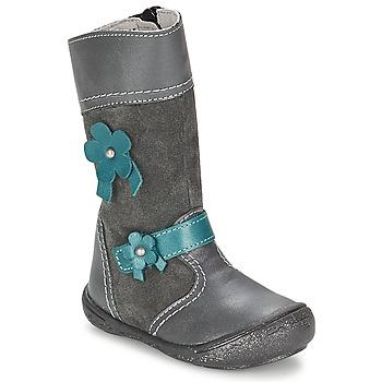 鞋子 女孩 都市靴 Citrouille et Compagnie RINDAR 灰色