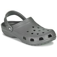 鞋子 洞洞鞋/圓頭拖鞋 crocs 卡駱馳 CLASSIC 石墨色
