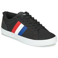鞋子 男士 球鞋基本款 Le Coq Sportif 乐卡克 VERDON CLASSIC FLAG 黑色