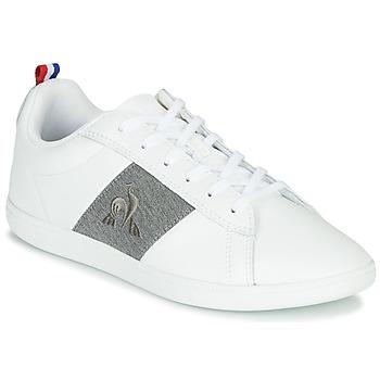 鞋子 球鞋基本款 Le Coq Sportif 乐卡克 COURTCLASSIC GS 白色