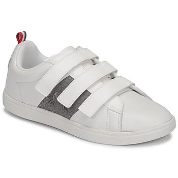 鞋子 儿童 球鞋基本款 Le Coq Sportif 乐卡克 COURTCLASSIC PS 白色