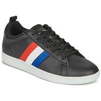 鞋子 球鞋基本款 Le Coq Sportif 乐卡克 COURTCLASSIC FLAG 黑色