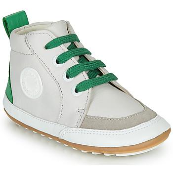 鞋子 儿童 短筒靴 Robeez MIGO 米色 / 绿色