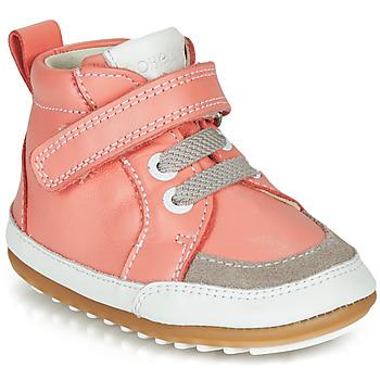 鞋子 女孩 短筒靴 Robeez MIGOLO 玫瑰色