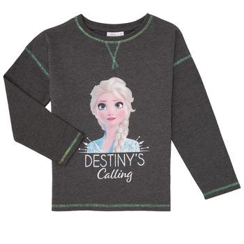 衣服 女孩 长袖T恤 TEAM HEROES KIDS FROZEN 灰色