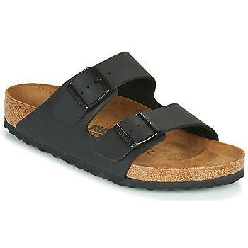 鞋子 休闲凉拖/沙滩鞋 Birkenstock 勃肯 ARIZONA LARGE FIT 黑色