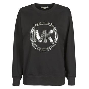 衣服 女士 卫衣 Michael by Michael Kors MK CRCL CLSC SWTSHRT 黑色