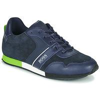 鞋子 男孩 球鞋基本款 BOSS J29225 蓝色