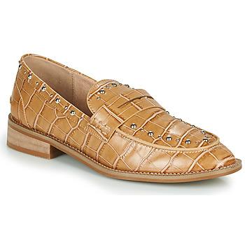 鞋子 女士 皮便鞋 Vanessa Wu  棕色