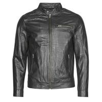 衣服 男士 皮夹克/ 人造皮革夹克 Selected 思莱德 SLHC01 黑色