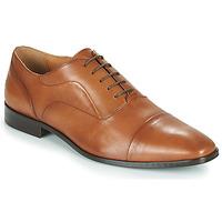 鞋子 男士 系带短筒靴 Carlington 卡尔顿 NIMIO 驼色