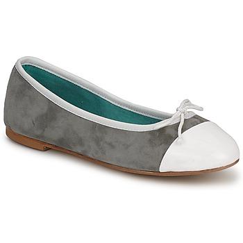 鞋子 女士 平底鞋 Les Lolitas FELL 白色-灰色
