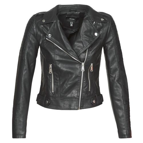 衣服 女士 皮夹克/ 人造皮革夹克 Vero Moda VMKERRIULTRA 黑色