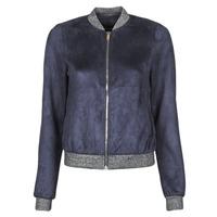衣服 女士 皮夹克/ 人造皮革夹克 Vero Moda VMSUMMERELISA 海蓝色