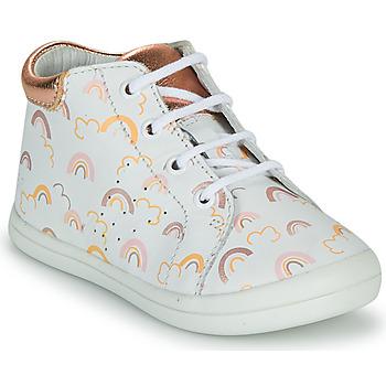 鞋子 女孩 高帮鞋 GBB NAHIA 白色 / 玫瑰色