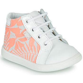 鞋子 女孩 高帮鞋 GBB FAMIA 白色 / 玫瑰色