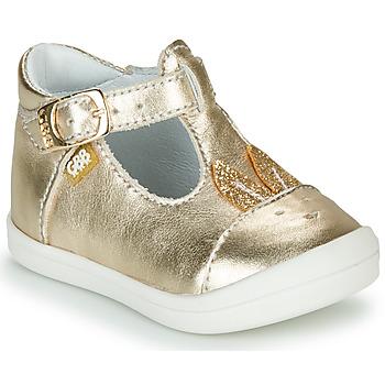 鞋子 女孩 平底鞋 GBB ANINA 金色