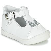 鞋子 女孩 平底鞋 GBB ANINA 白色