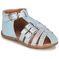 鞋子 女孩 凉鞋 GBB RIVIERA 蓝色