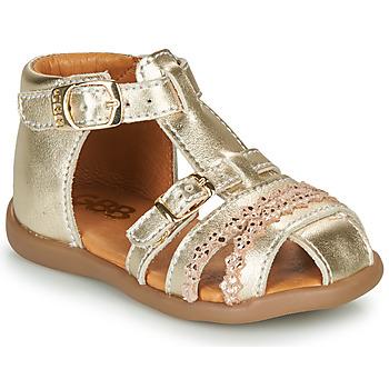 鞋子 女孩 凉鞋 GBB ALIDA 金色