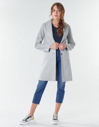 衣服 女士 大衣 Only ONLCARRIE BONDED 灰色