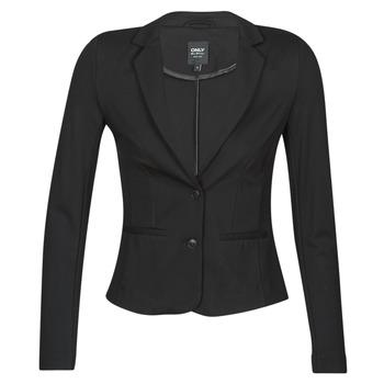 衣服 女士 外套/薄款西服 Only ONLPOPTRASH BLAZER 黑色
