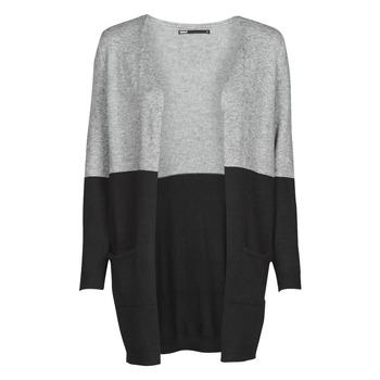 衣服 女士 羊毛衫 Only ONLQUEEN 黑色 / 灰色