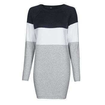 衣服 女士 短裙 Only ONLLILLO 海蓝色 / 白色 / 灰色