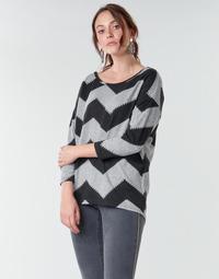 衣服 女士 女士上衣/罩衫 Only ONLELCOS 灰色 / 黑色