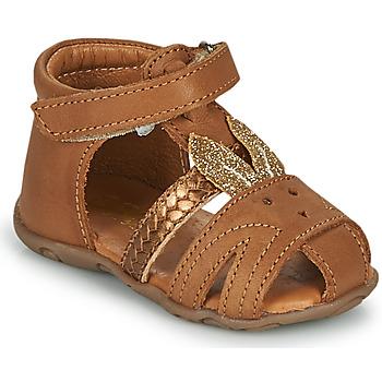 鞋子 女孩 凉鞋 GBB FADIA 棕色