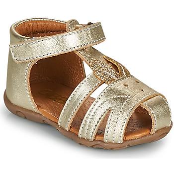 鞋子 女孩 凉鞋 GBB FADIA 金色