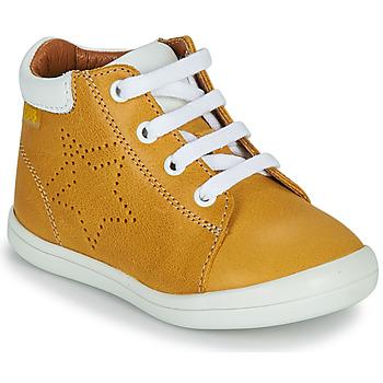 鞋子 男孩 高帮鞋 GBB BAMBOU 黄色