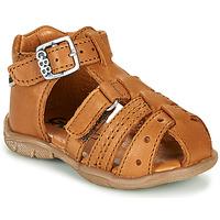 鞋子 男孩 凉鞋 GBB ARIGO 棕色
