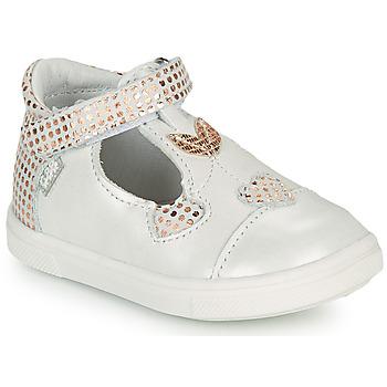 鞋子 女孩 平底鞋 GBB EMILA 白色