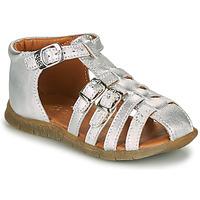 鞋子 女孩 凉鞋 GBB PERLE 银灰色