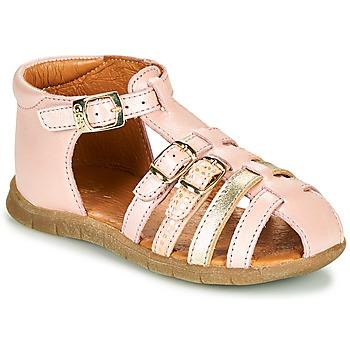 鞋子 女孩 凉鞋 GBB PERLE 玫瑰色