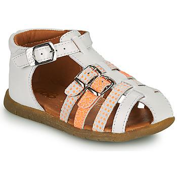 鞋子 女孩 凉鞋 GBB PERLE 白色