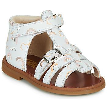 鞋子 女孩 凉鞋 GBB PHILIPPINE 白色