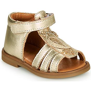 鞋子 女孩 凉鞋 GBB FRANIA 金色