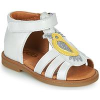 鞋子 女孩 凉鞋 GBB FRANIA 白色