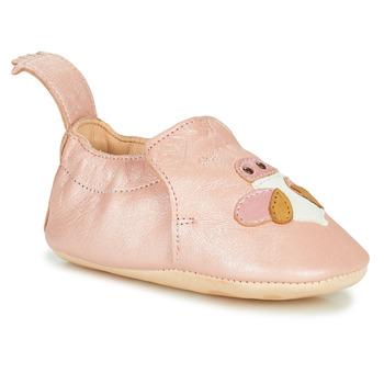 鞋子 儿童 拖鞋 Easy Peasy BLUMOO ABEILLE 玫瑰色